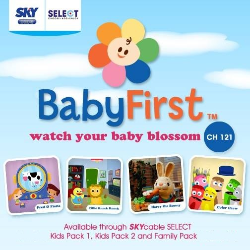Unlock your kid's potential with BabyFirst TV on Skycable Select