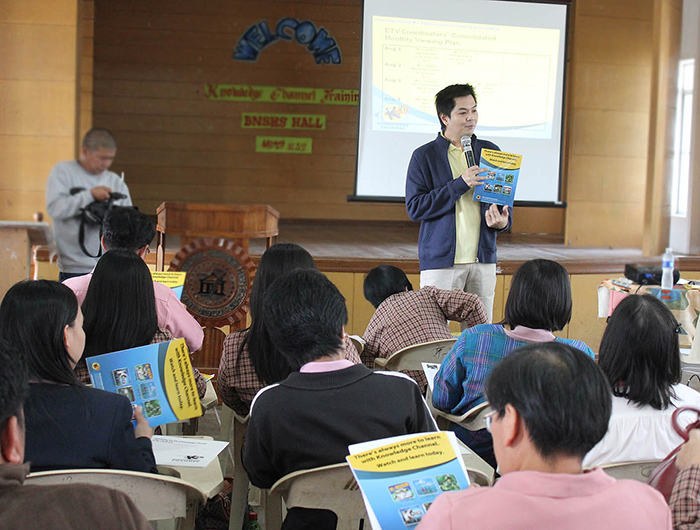 KCh staff gives training to teachers in Batanes Training