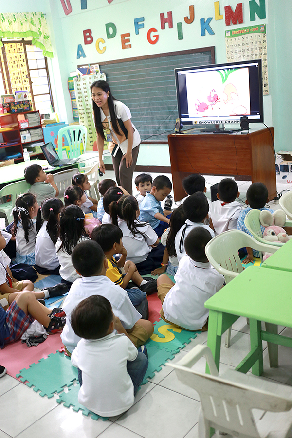 PRE-SCHOOL STUDENTS WATCH KCH