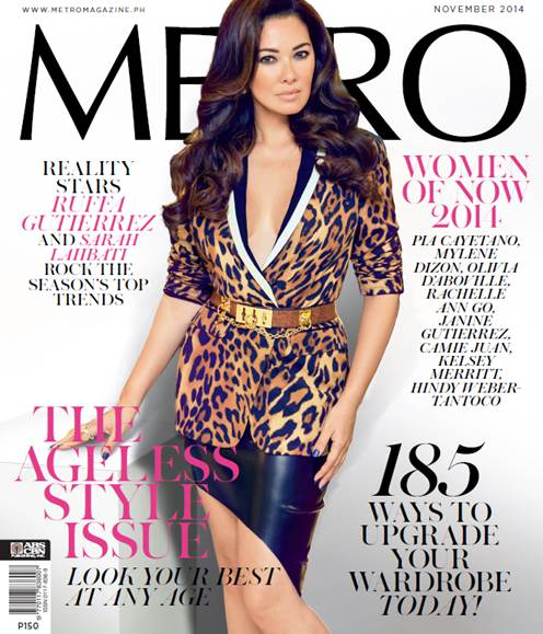 Ruffa Guttierez and Sarah Labati on the cover of Metro's Ageless Style Issue!