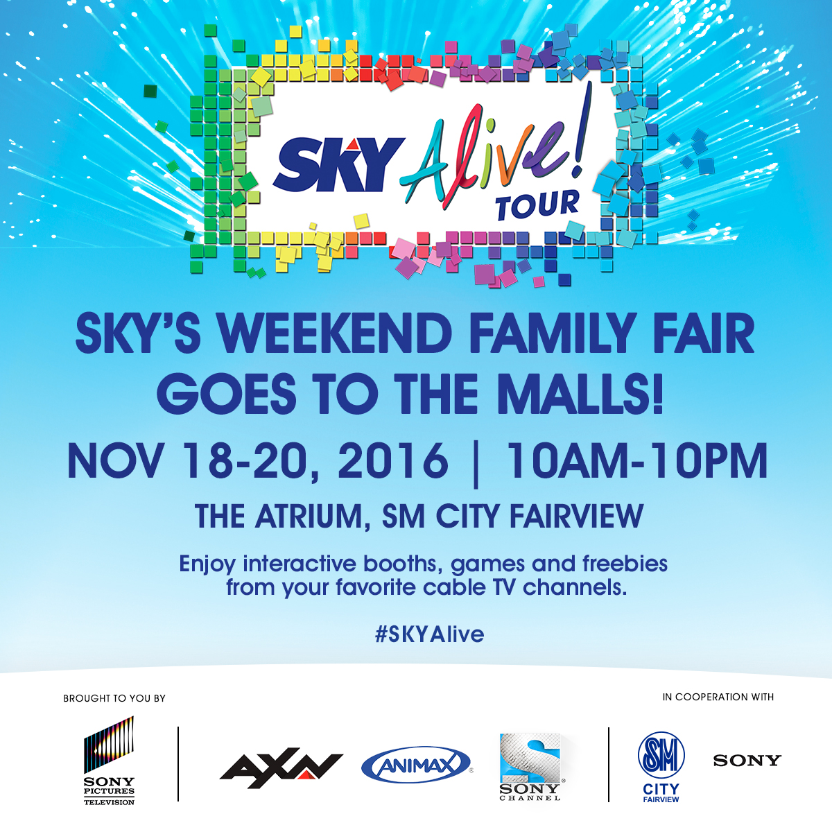 Fairview Skyalive tour