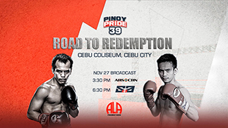 "Melindo, Pagara brothers, on the road to redemption in ""Pinoy Pride 39"" on S+A"