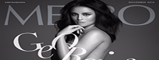 Georgina's bold statement in 'Metro'