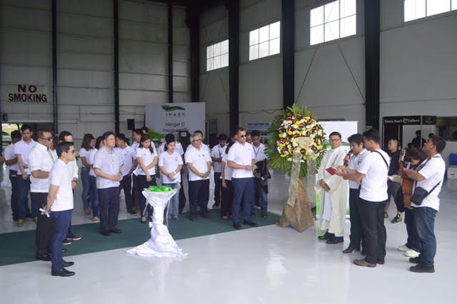 inauguration of INAEC's Hangar C at the Clark Civil Aviation Complex