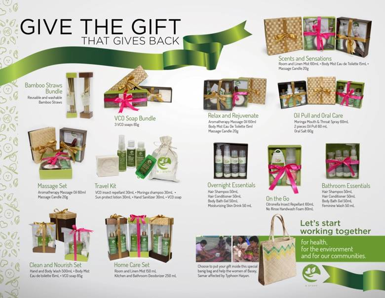 Give the Gift that Gives Back: G Stuff's all 100% natural and healthy products