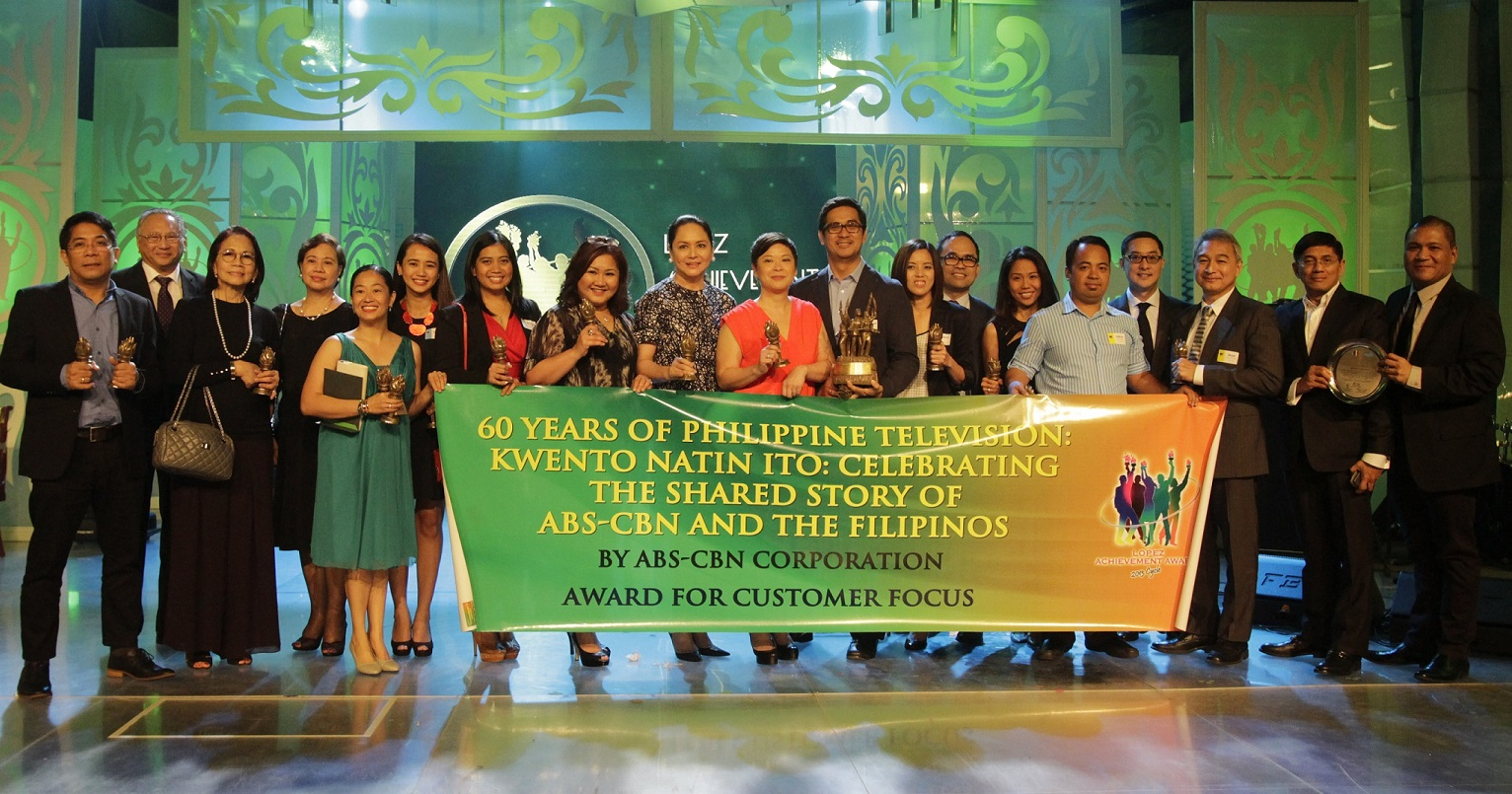 "ABS-CBN's '60 years of Philippine Television"" (Customer Focus)"