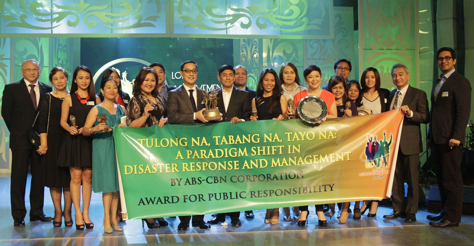 "ABS-CBN's ""Tulong Na, Tabang Na, Tayo Na: A Paradigm Shift in Disaster Response Management."""