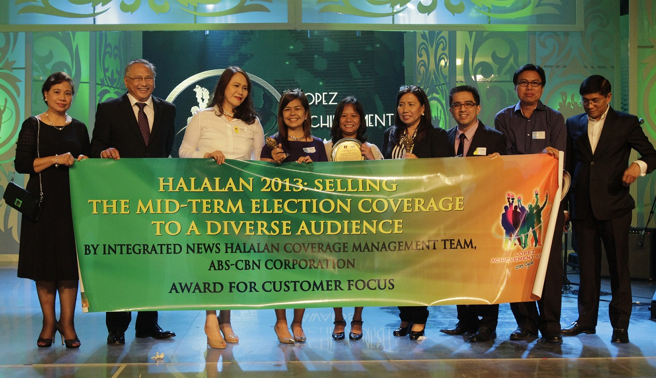 "ABS-CBN's ""Halalan 2013: Selling the Midterm Election Coverage to a Diverse Audience""  (Customer Focus)"