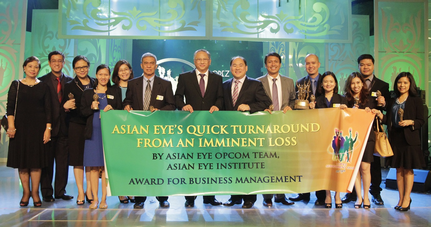 "Asian Eye Institute's ""Quick Turnaround from an Imminent Loss"" (Business Management)"