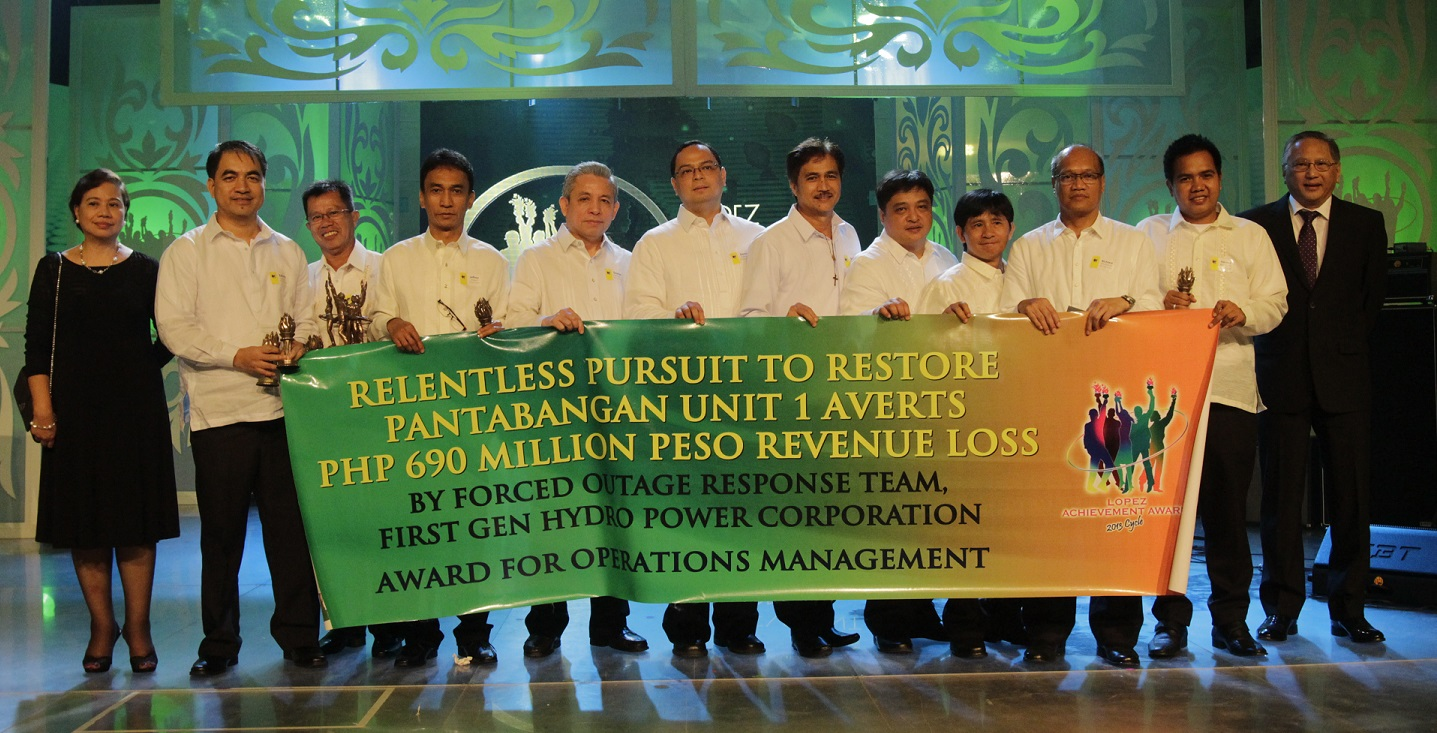 "First Gen Hydro's ""Relentless Pursuit to Restore Pantabangan Unit 1 Averts P690-Million Revenue Loss"" (Operations Management)"