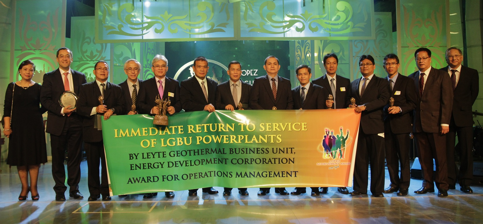 "Energy Development Corporation's 'Immediate Return to Service of Leyte Geothermal Business Unit Power Plants"" (Operations Management)"