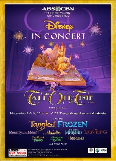 The ABS-CBN Philharmonic Orchestra greets November with Disney Concert