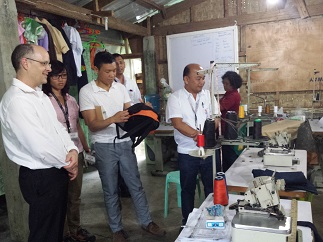 CSG with global experts during the Leyte Geothermal Business Unit site visit
