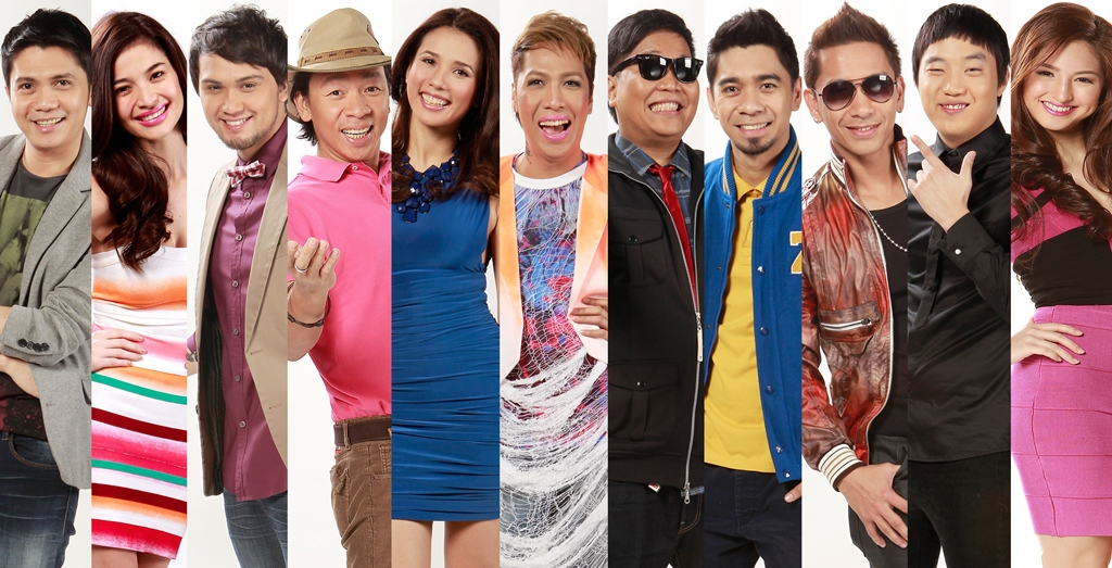 Its Showtime hosts Vhong Anne Billy Kuya Kim Karylle Vice Jugs  Teddy Jhong Ryan Coleen