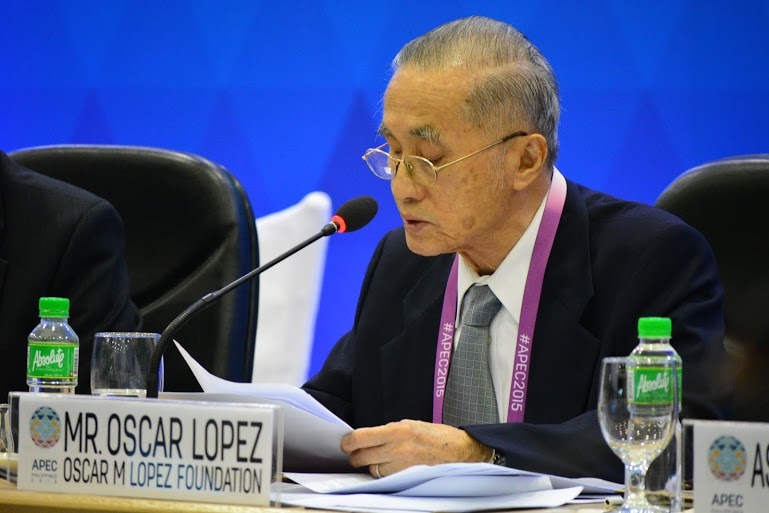 OML bats for DRR as national, regional and local priority at Apec forum