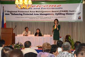 Sec. Gina Lopez bares her agency's plans for protected areas