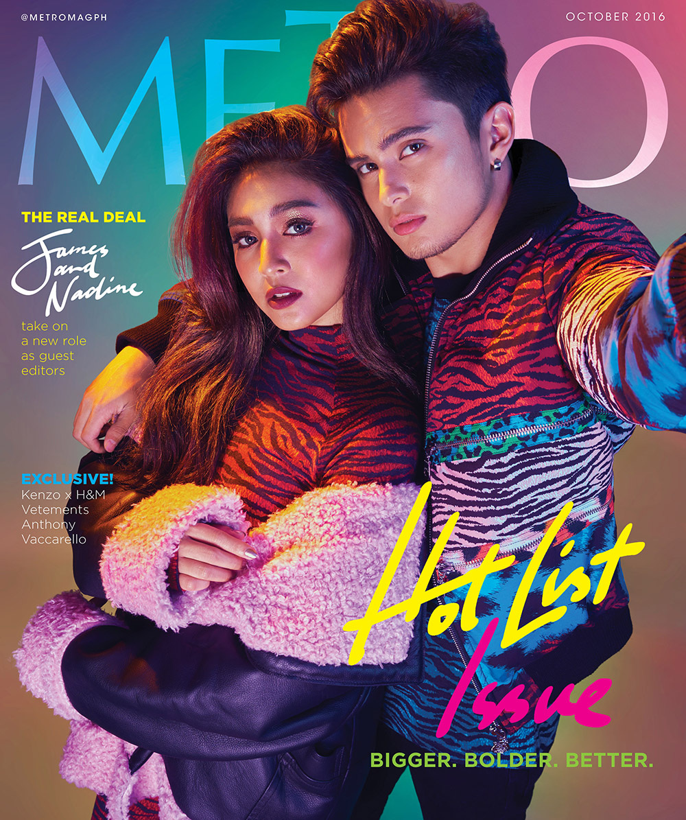 James and Nadine guest edit 'Metro'