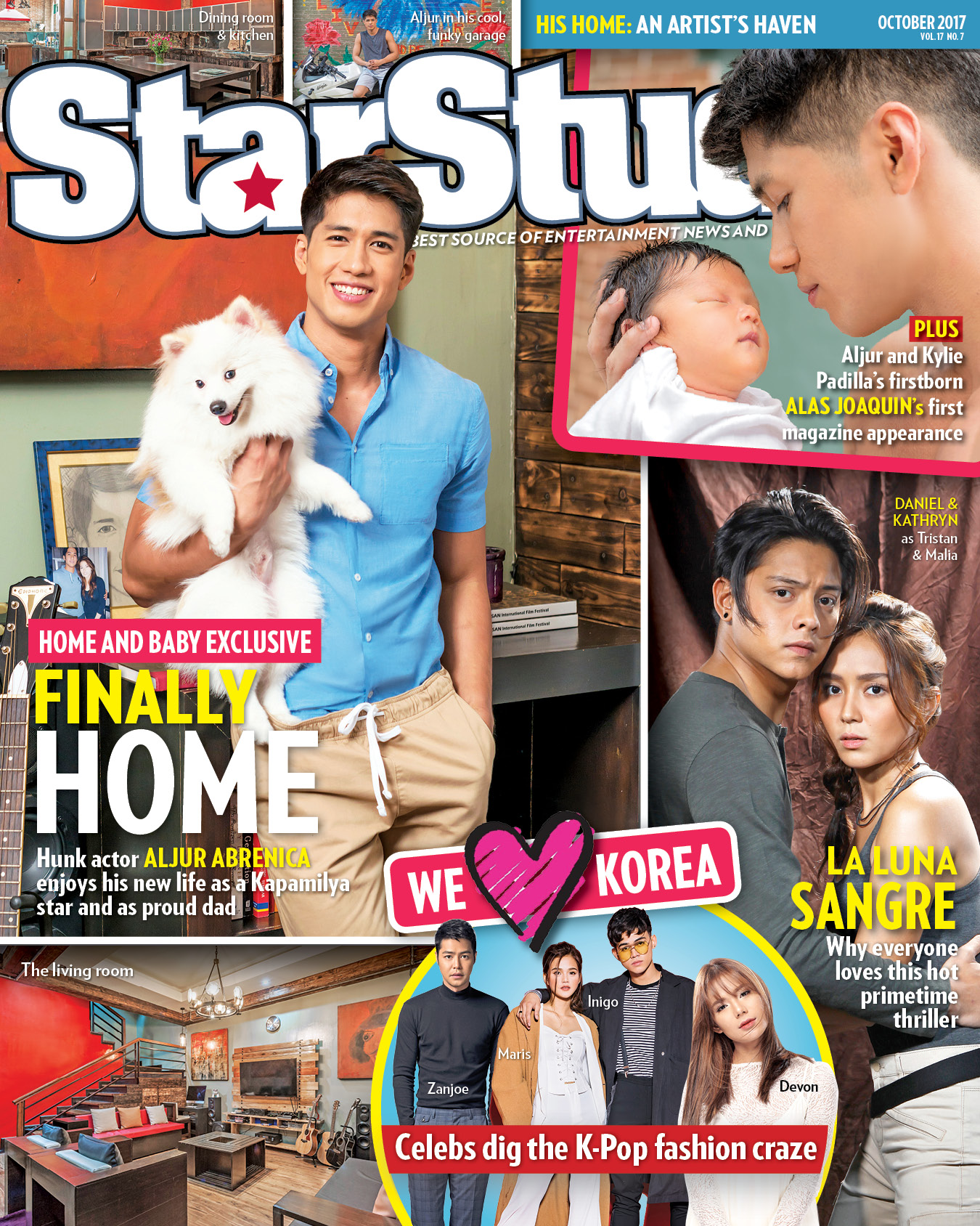 StarStudio visits the home of Aljur Abrenica