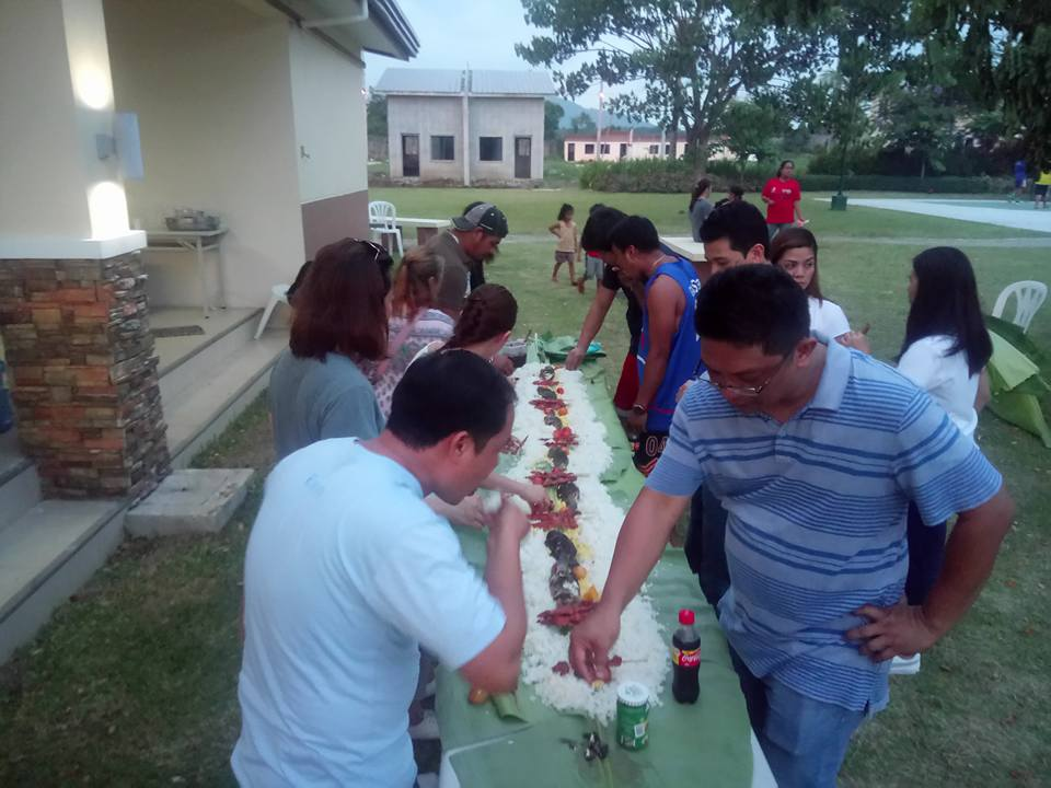 Boodle Fight wrapped up the energetic Fathers Day Event