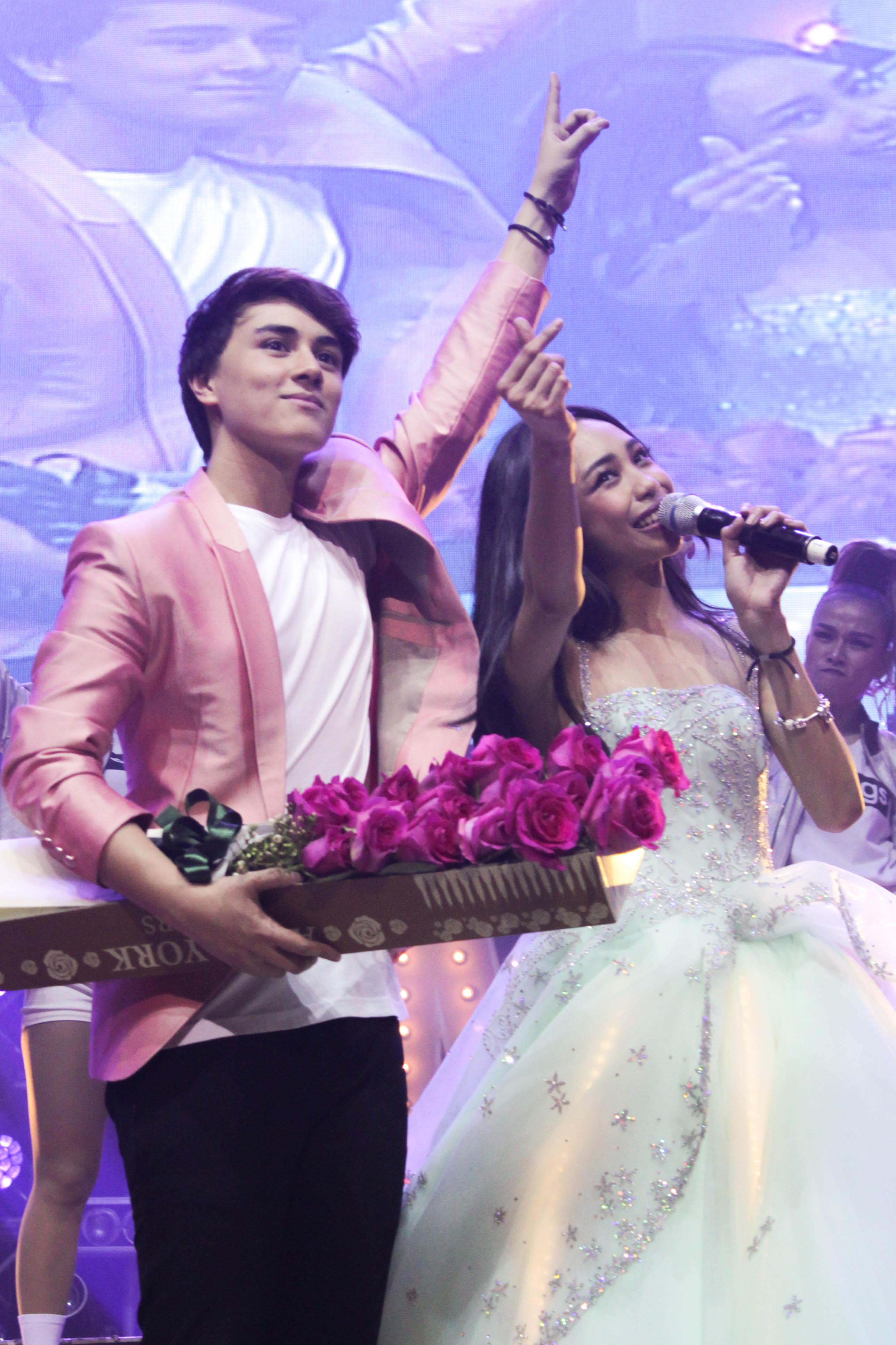 Rising artists Maymay Entrata and Edward Barber