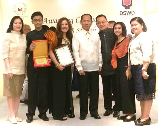 Bantay Bata 163 partner wins model OFW family plum