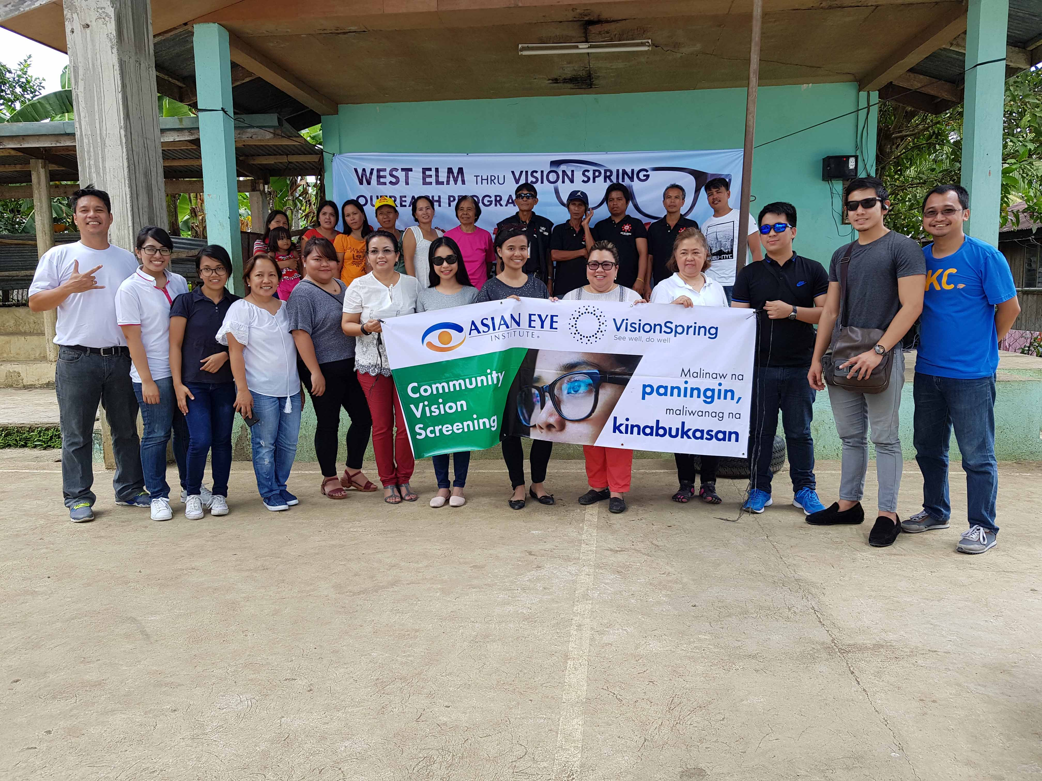 Asian Eye partners with VisionSpring to provide checkups, eyeglasses to workers