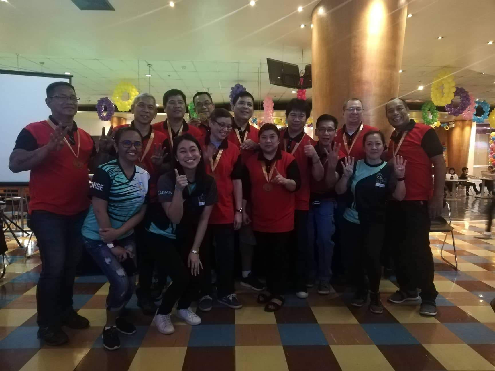 ABS-CBN, SKY and KCh bowlers top Lopez Group bowling tourney
