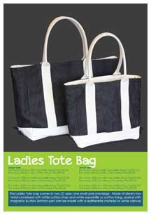 AFInity ladies tote bag