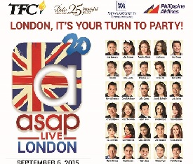 Filipinos in Europe get ready for ASAP 20 Live in London