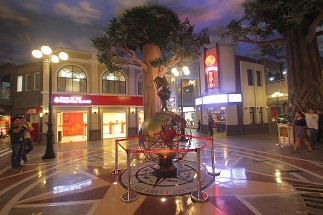 KidZania Manila's Eternal Spirit at the heart of the main square of the play city