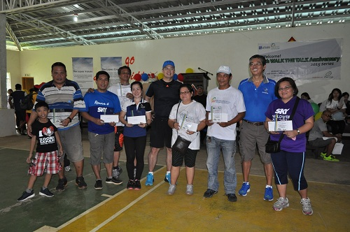 SKY Perfect Attendance awardees