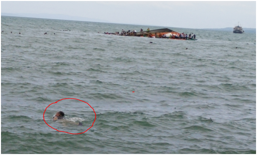 LGBU EPRT member Friday Lao saved eight passengers in what is considered Ormoc's worst smallscale sea transport accident