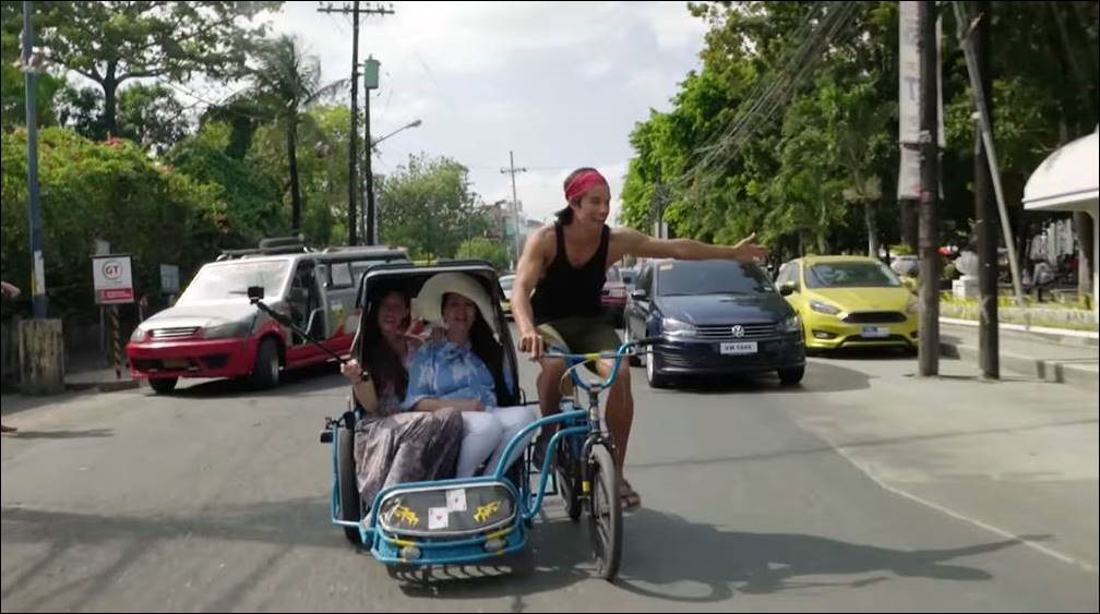 "The Filipino-American tech millionaire cum travel vlogger goes pedicabbing on a tricycle, among other adventures in the Philippines in ""Discovering Routes""."