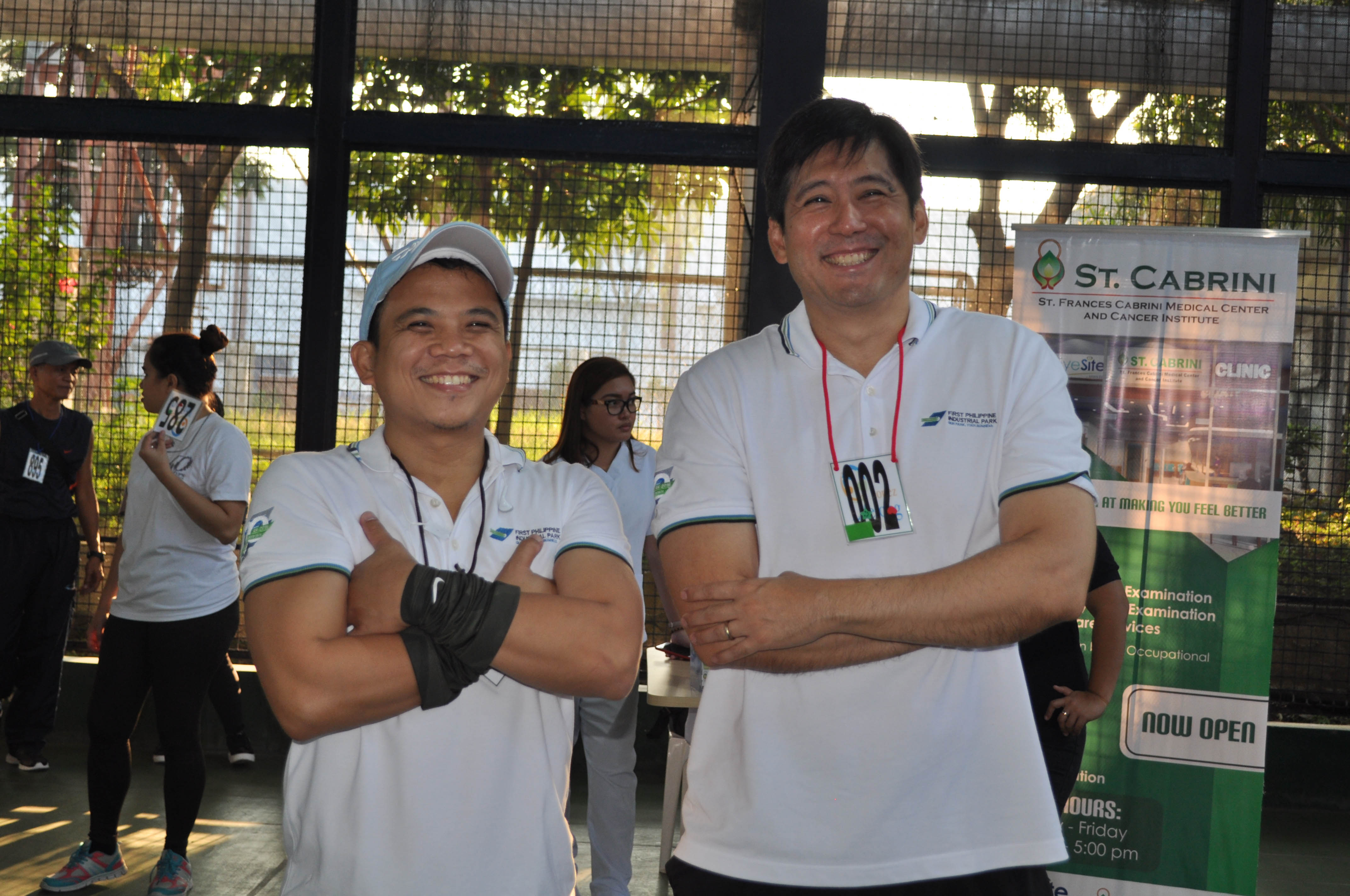 FPIP president Edwin CoSeteng (right) and Operations manager Mark Caluag