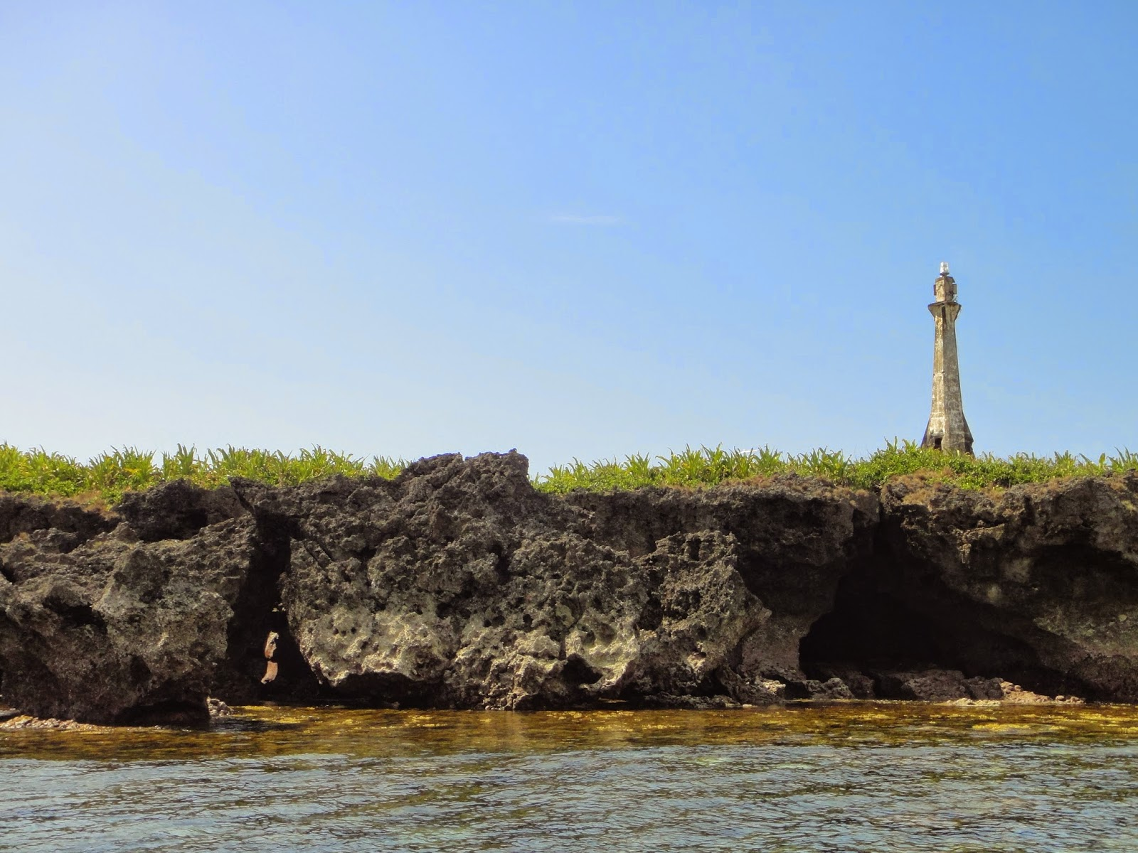 The old lighthouse on Baliscar Island