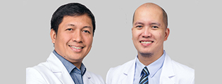 Dr. Gualberto Dato and Dr. Jesse Caguioa