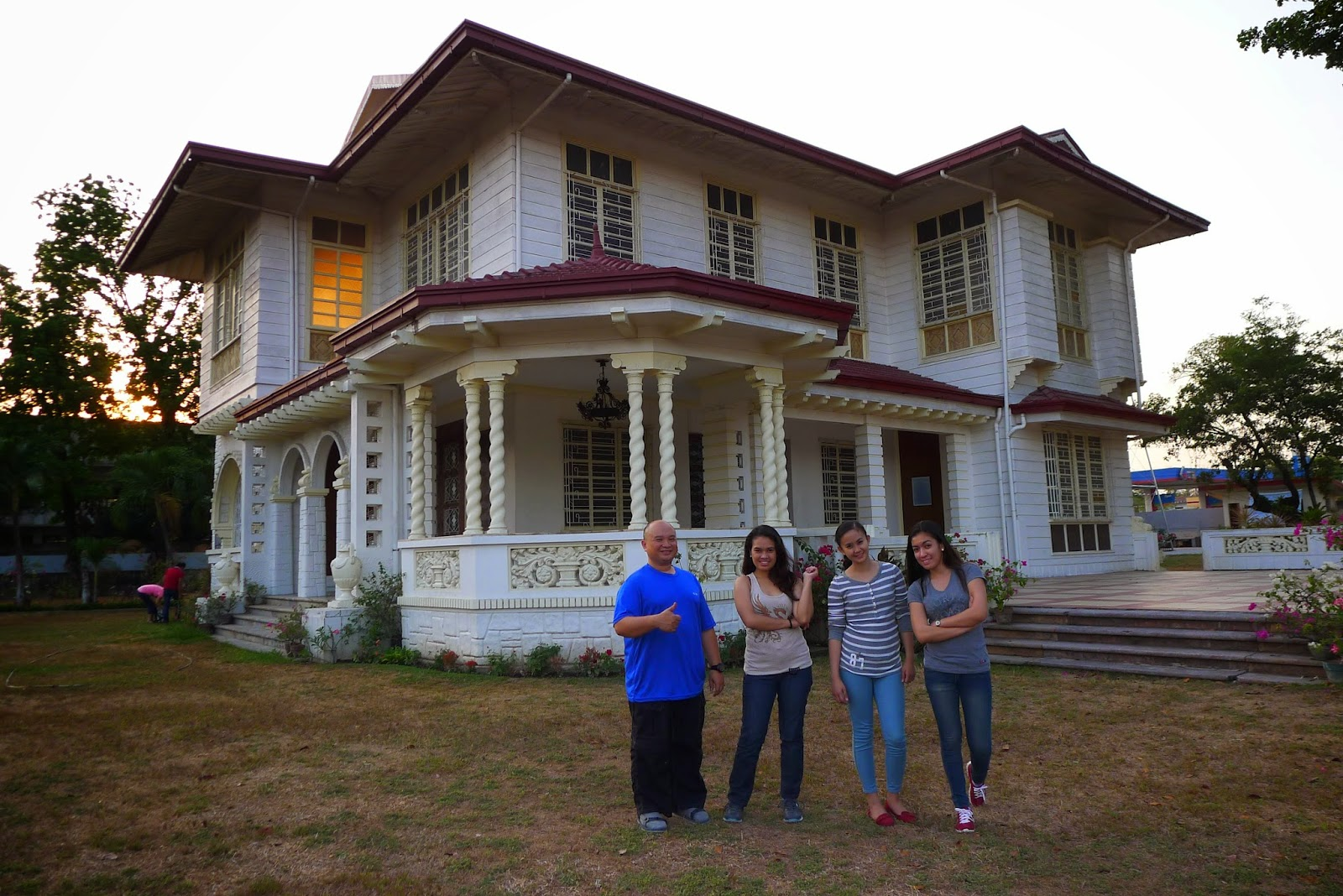The Aquino ancestral house dates back to 1939