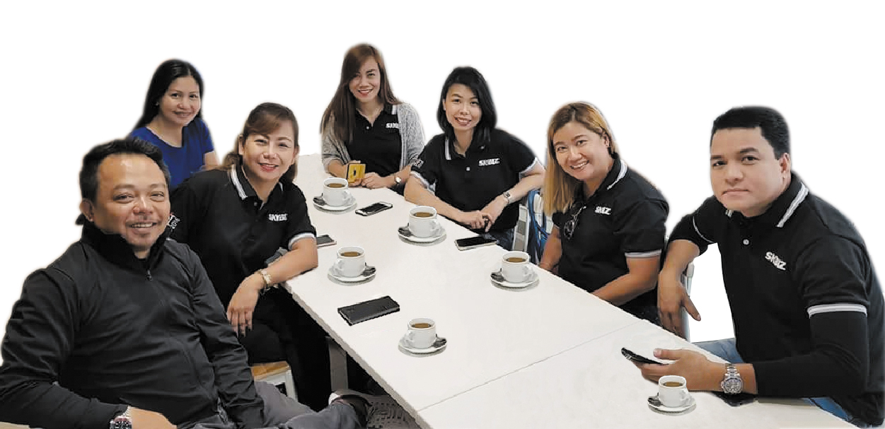 Meet the Team of SKYBIZ