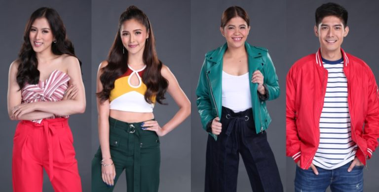 Star Hunt hosts Alex Gonzaga Kim Chiu Melai Cantiveros Robi Domingo