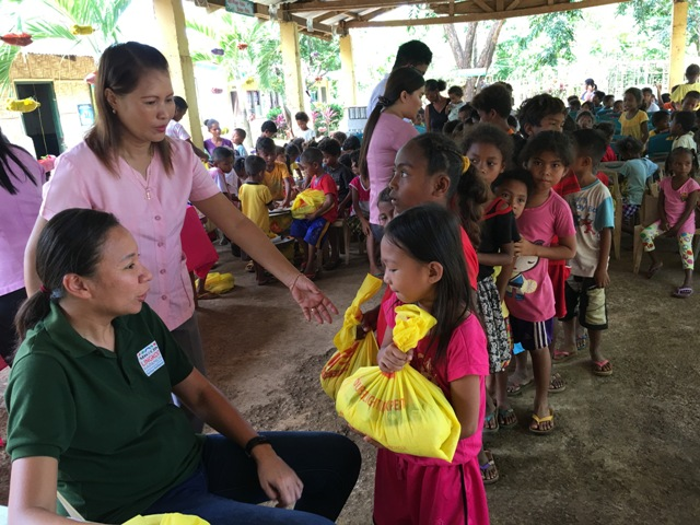 Zambales students receive school supplies, groceries from Bantay Kalikasan