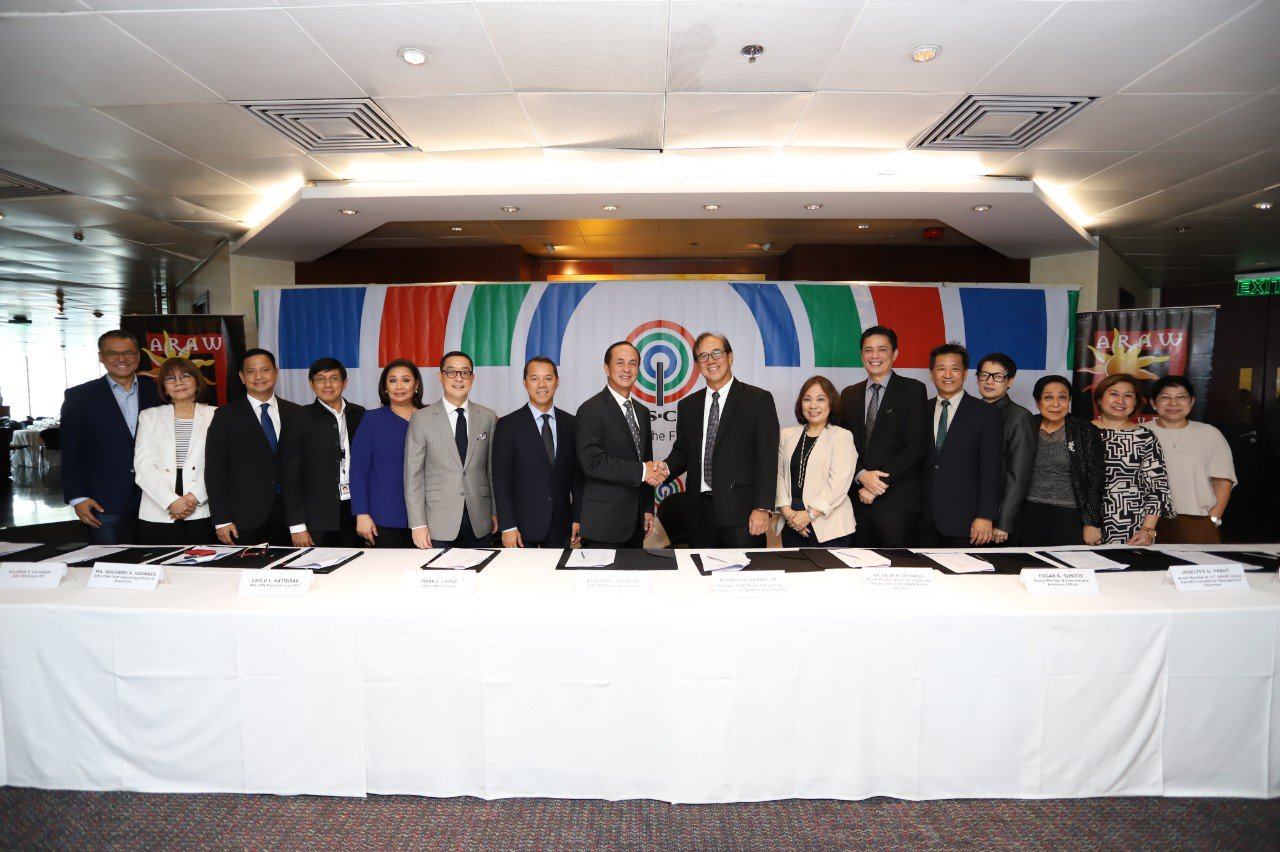 ABS-CBN seals its partnership with the Advertising Foundation of the Philippines for the upcoming Araw Values Awards