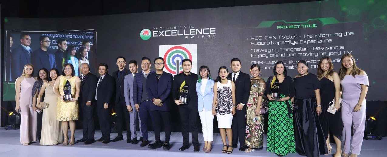 The ABS-CBN teams' seven awards yielded a 'Company of the Year' nomination for the Kapamilya network