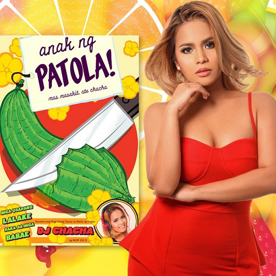 DJ ChaChas latest book Anak ng Patola is now available in bookstores nationwide for only P175