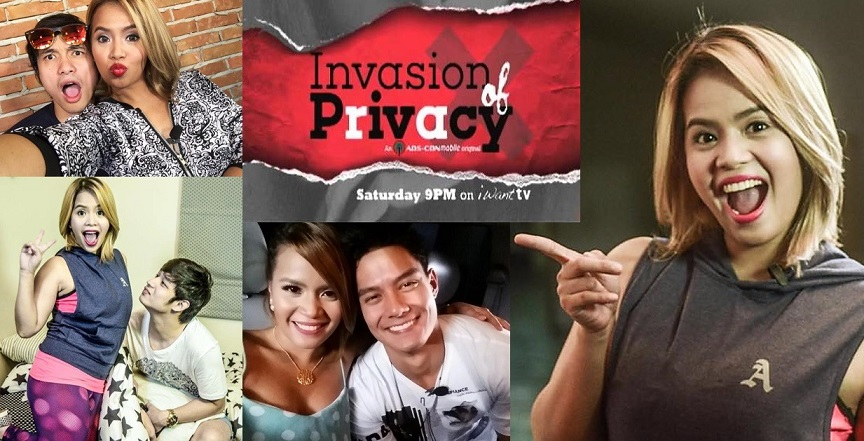 DJ ChaChas mobile show Invasion of Privacy is only available on ABS-CBNmobile and iWanTV
