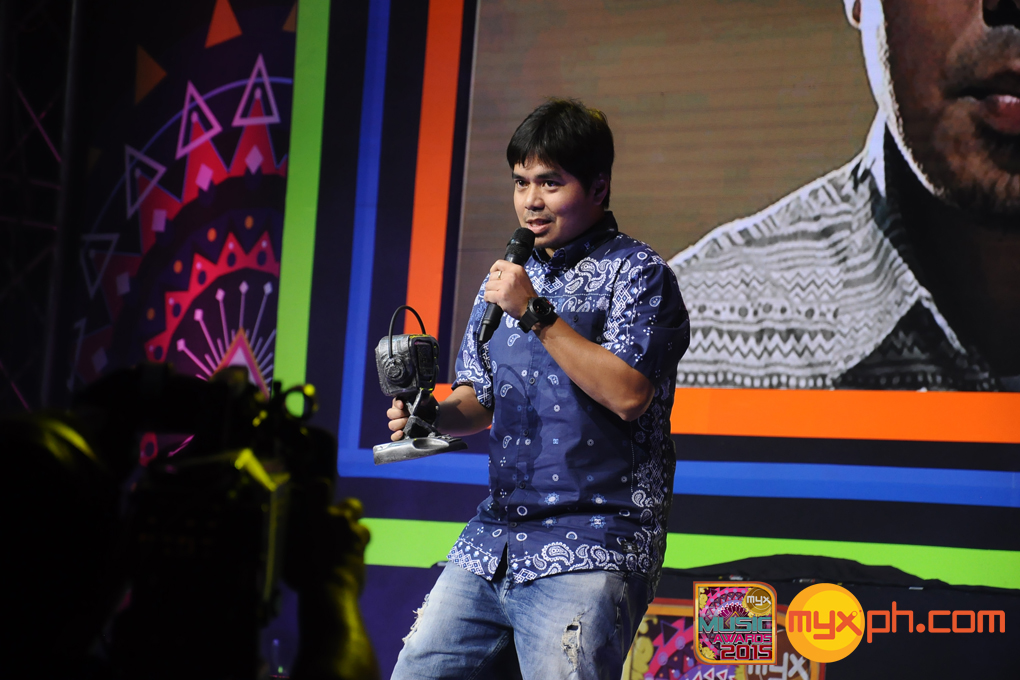 Gloc-9 at the MYX Music Awards 2015