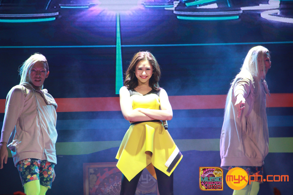 Sarah Geronimo during the MYX Music Awards 2015