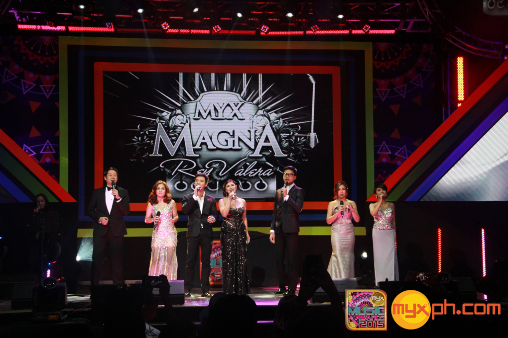 Star-studded tribute number for Rey Valera  the recipient of the MYX Magna Award