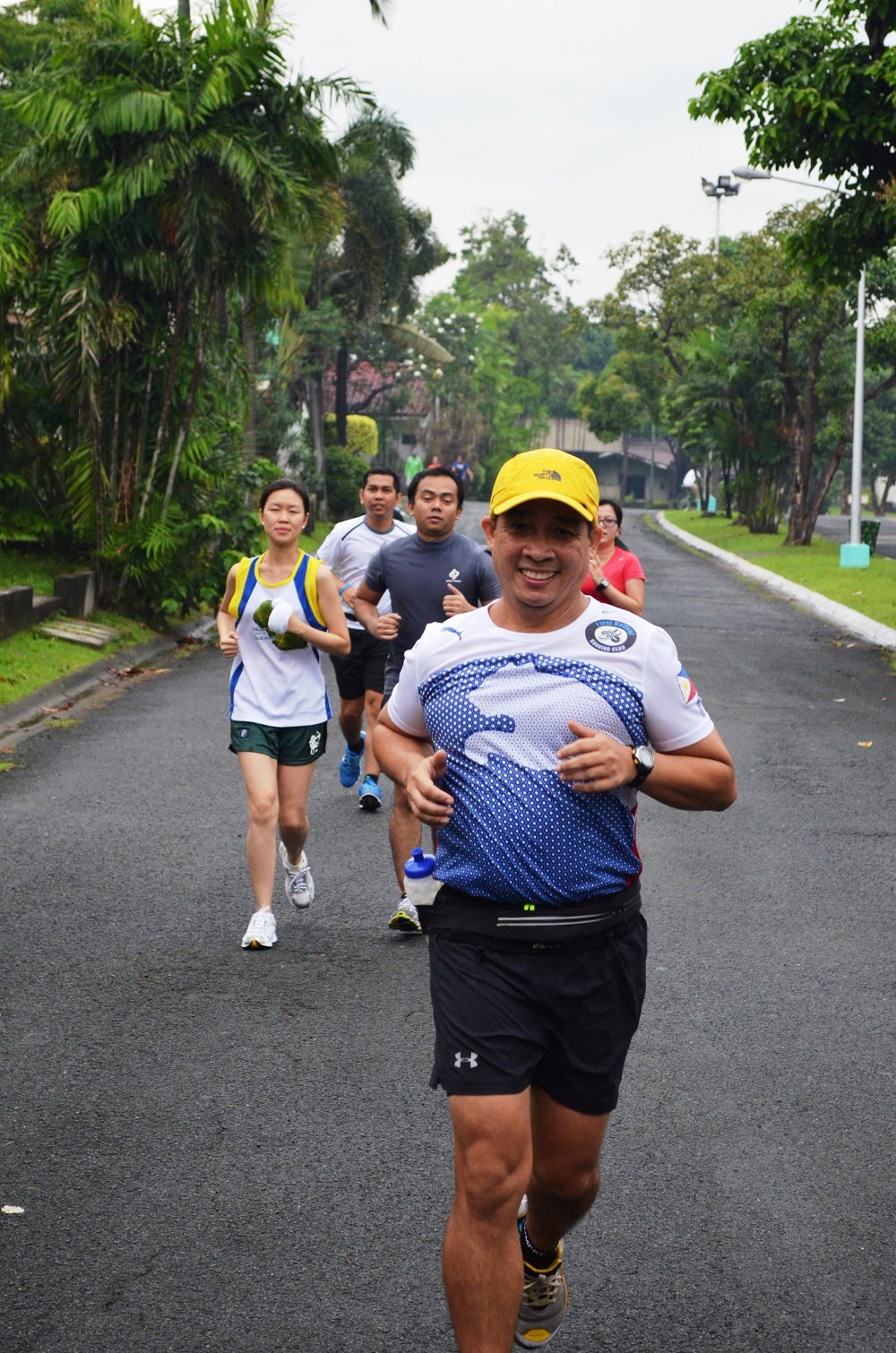 De Lima in training