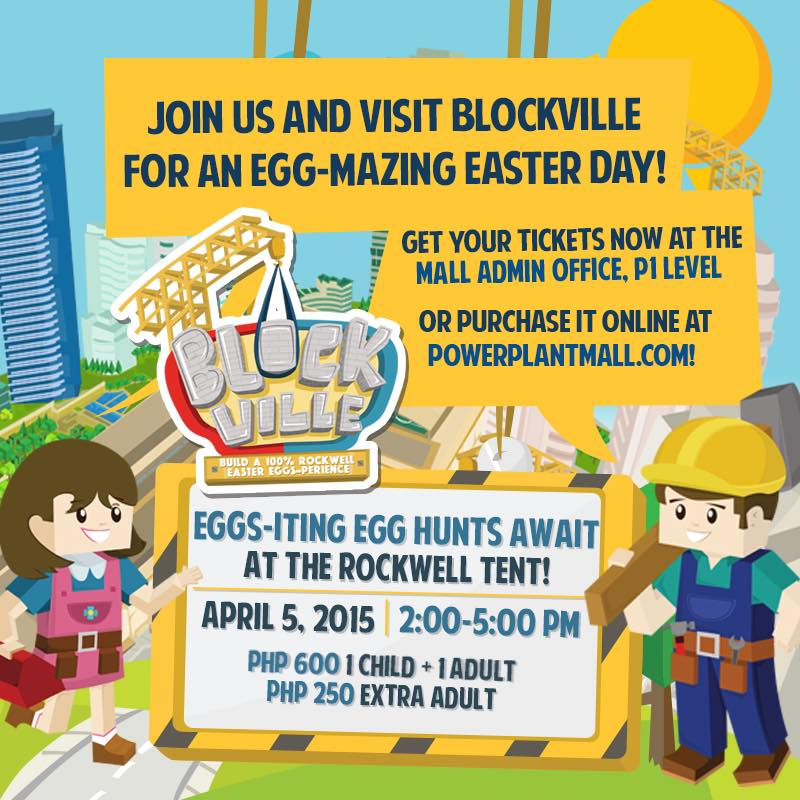 Blockville: A 100% Rockwell Easter adventure