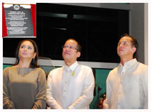At ELJCC dedication: 'PNoy' lauds ABS-CBN for empowering citizens